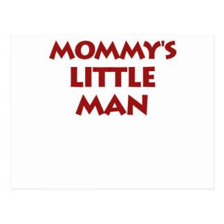 Mommy's Little Man Postcard