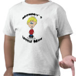 Mommy's Little Man T Shirts