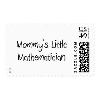 Mommys Little Mathematician Stamps