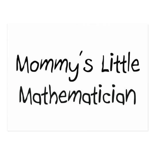Mommys Little Mathematician Postcard