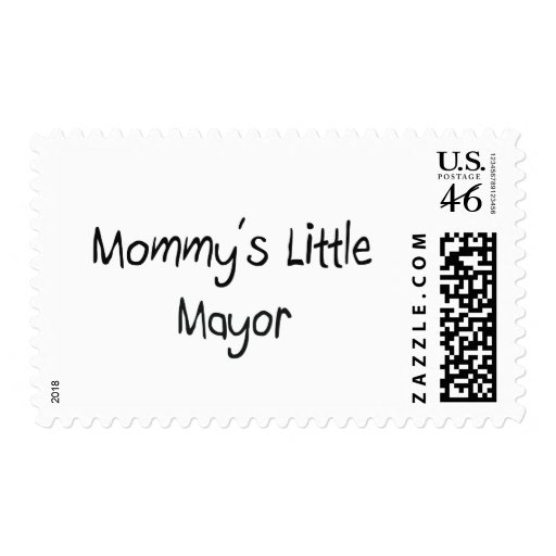 Mommys Little Mayor Stamps