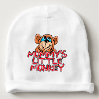 Mommy's Little Monkey Baby Beanie