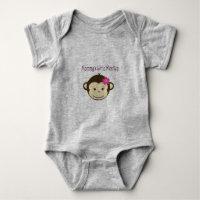 Mommy/'s Little Monkey Funny Toddler Hoodie Sweatshirt