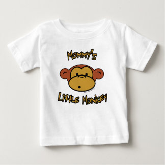 Mommy's Little Monkey Baby T-Shirt