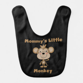 Mommy's Little Monkey Bib