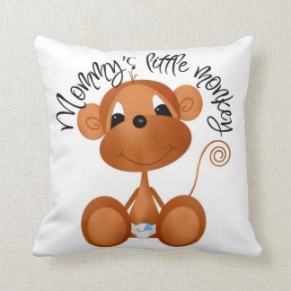 Mommy's Little Monkey Pillow