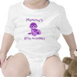 Mommy's Little Monkey (purple) Tees
