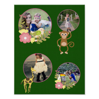 Mommy's Little Monkey Replace The Images Poster