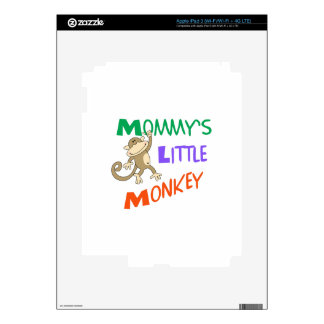MOMMYS LITTLE MONKEY DECAL FOR iPad 3