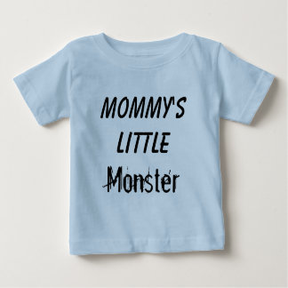 Mommy's Little Monster Child/Infant Tshirt
