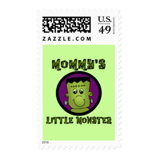 Mommy's Little Monster T-shirts and Gifts Stamps