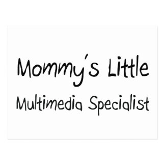 Mommys Little Multimedia Specialist Postcards