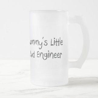 Mommys Little Mwd Engineer 16 Oz Frosted Glass Beer Mug