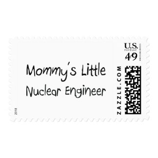 Mommys Little Nuclear Engineer Postage Stamps