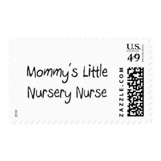Mommys Little Nursery Nurse Postage Stamps