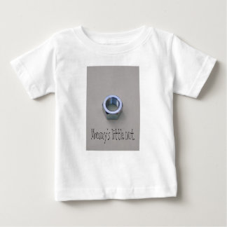 Mommy's little nut. baby T-Shirt