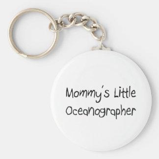 Mommys Little Oceanographer Keychain