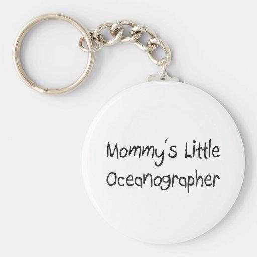 Mommys Little Oceanographer Key Chains