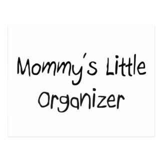 Mommys Little Organizer Post Cards