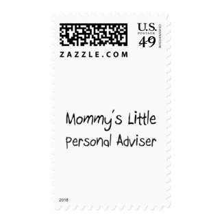Mommys Little Personal Adviser Postage Stamps