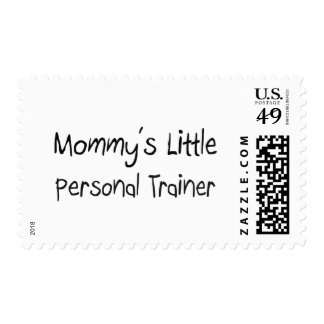 Mommys Little Personal Trainer Postage Stamps