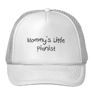 Mommys Little Pianist Hats