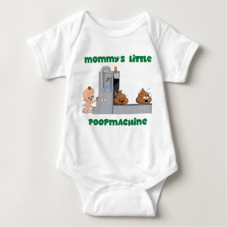 Mommy's little poop machine baby body baby bodysuit