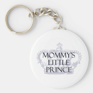 Mommy's Little Prince Basic Round Button Keychain