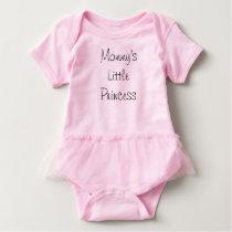 Mommy's Little Princess Baby Bodysuit