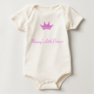 Mommy's little Princess Baby Bodysuit