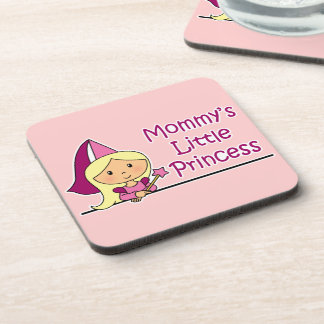 Mommy's Little Princess Beverage Coaster