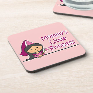 Mommy's Little Princess Drink Coaster