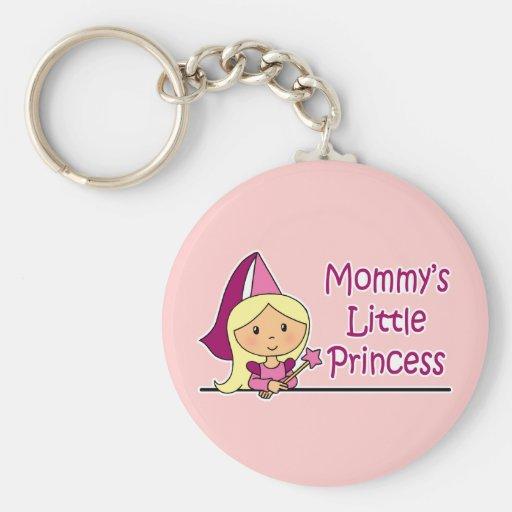 Mommy's Little Princess Basic Round Button Keychain