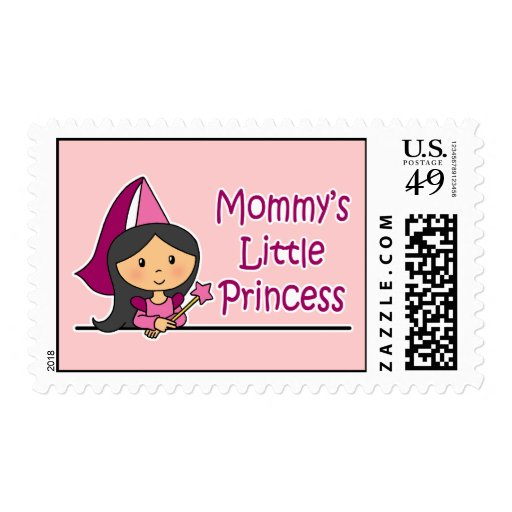 Mommy's Little Princess Postage Stamp