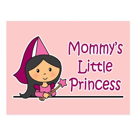 Mommy's Little Princess Postcard