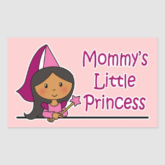 Mommy's Little Princess Rectangular Sticker