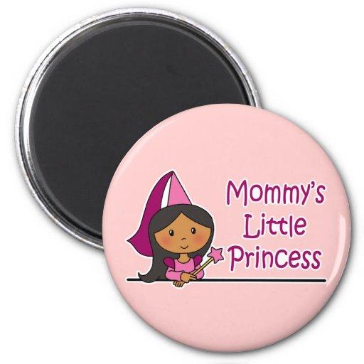 Mommy's Little Princess Refrigerator Magnet