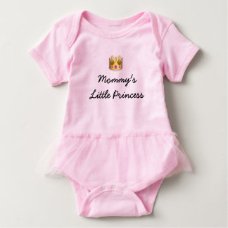 Mommy's Little Princess Tutu Bodysuit in Pink