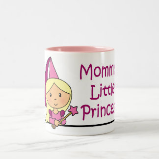 Mommy's Little Princess Two-Tone Coffee Mug