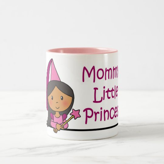 Mommy's Little Princess Two-Tone Coffee Mug