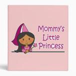 Mommy's Little Princess Vinyl Binders