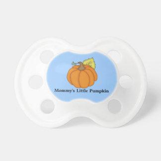 Mommy's Little Pumpkin Blue Pacifier
