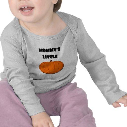 Mommy's Little Pumpkin - Halloween Tee Shirt