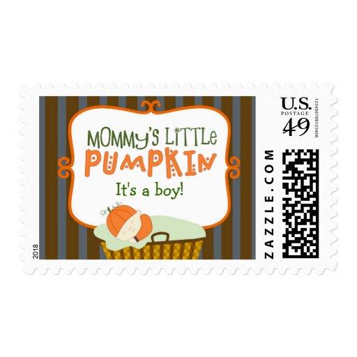 Mommy's Little Pumpkin, It's a boy! Stamps