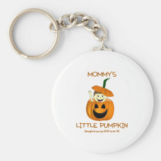 MOMMY'S LITTLE PUMPKIN - LOVE TO BE ME KEYCHAIN