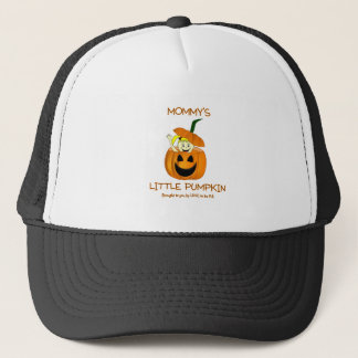 MOMMY'S LITTLE PUMPKIN - LOVE TO BE ME TRUCKER HAT