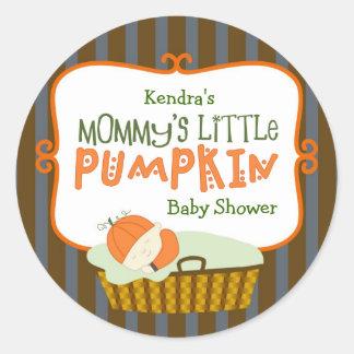 Mommy's Little Pumpkin Stickers