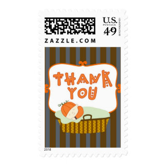 Mommy's Little Pumpkin - Thank You Postage Stamp