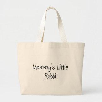 Mommys Little Rabbi Canvas Bags