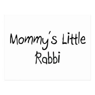 Mommys Little Rabbi Postcard